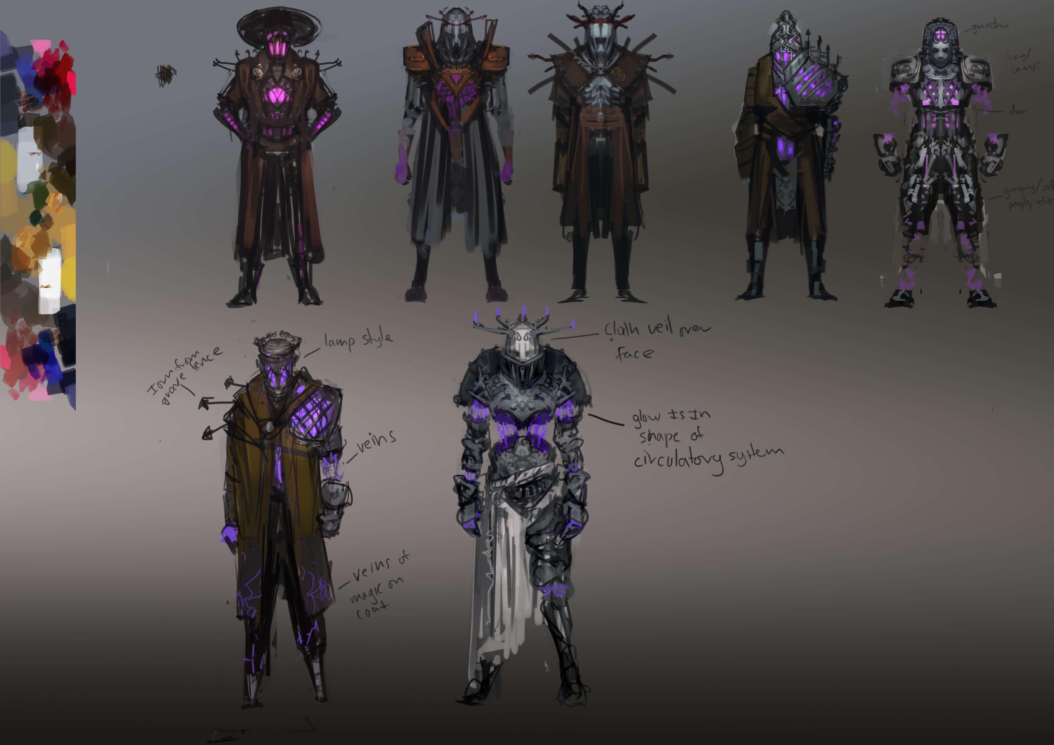 More Undertaker variations