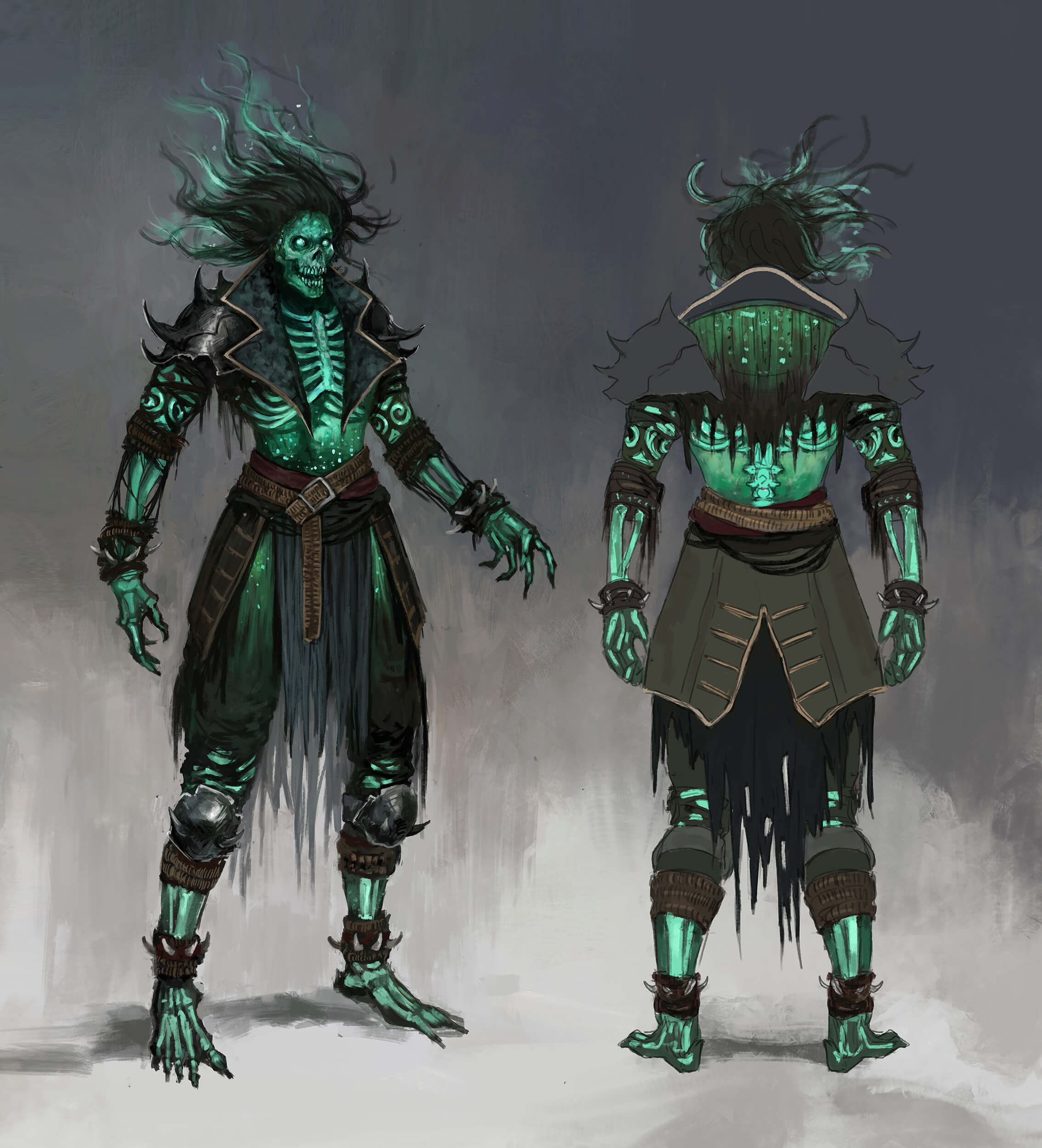 Corsair Mystic Armour Set