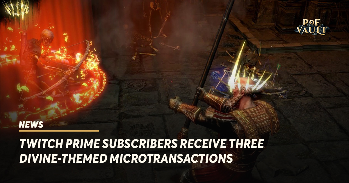 Twitch Prime Subscribers Receive Three Divine-themed