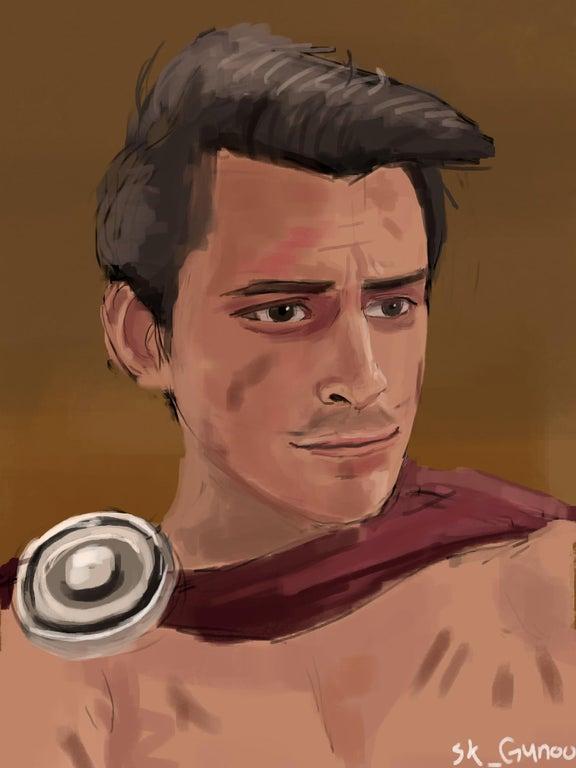Legion Mathil Portrait by Gunoo