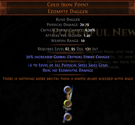 Cold Iron Point