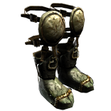 Reinforced Greaves