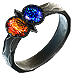 Two-Stone Ring (Cold / Lightning Resistances)