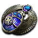 Winged Cartography Scarab