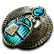 Winged Divination Scarab