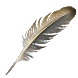 Albino Rhoa Feather