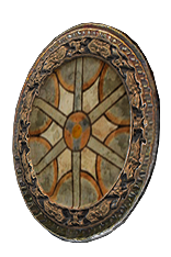 Baroque Round Shield