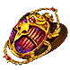 Gilded Bestiary Scarab