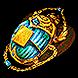 Gilded Divination Scarab
