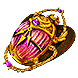 Gilded Reliquary Scarab