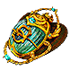 Gilded Torment Scarab