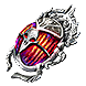 Polished Bestiary Scarab