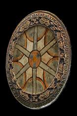 Elegant Round Shield